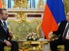 Russia-Morocco Putin Congratulates King Mohammed VI on Throne Day