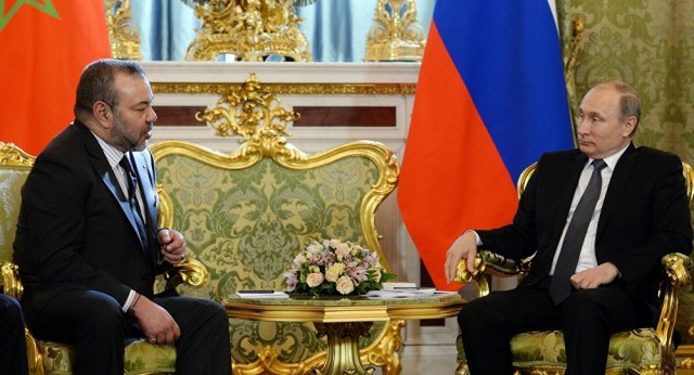Russia-Morocco Putin Congratulates King Mohammed VI on Throne Day