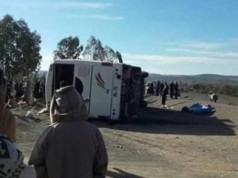 12 Dead After Bus Overturns on Mountainous Road Near Morocco's Agadir