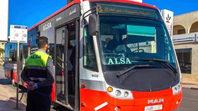 Alsa Suspends Bus Service Between Casablanca and Mohammedia