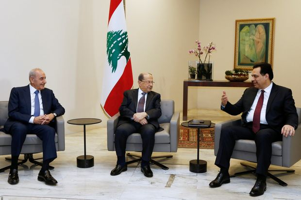 Beirut Explosion Government of Lebanon to Resign