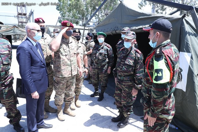 Beirut Morocco's Military Field Hospital Opens for Patients