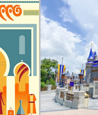 Disney's EPCOT Theme Park Features Morocco in Limited Edition Poster