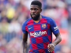 FC Barcelona's Defender Samuel Umtiti Tests Positive for COVID-19