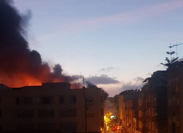 Fire Ravages Pastor Macao Candy Factory in Casablanca