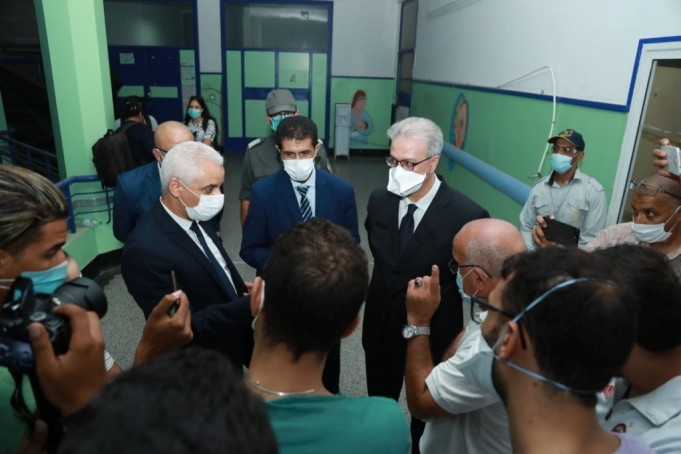 Health Minister Visits Marrakech, Announces New COVID-19 Field Hospital