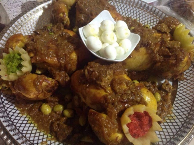 Recipe: Chicken Tagine With Daghmira, a Moroccan Wedding Favorite