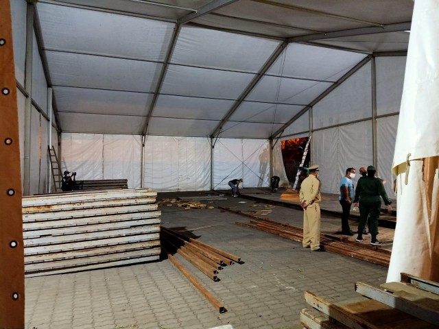 Morocco Builds New Field Hospital for COVID-19 Patients in Casablanca