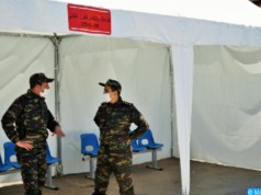 Morocco Establishes Military Field Hospital for COVID-19 Patients in Fez