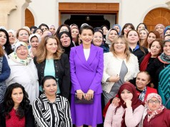 The princess aims to support home-grown initiatives that improve the lives of rural Moroccan women and people living in poverty.