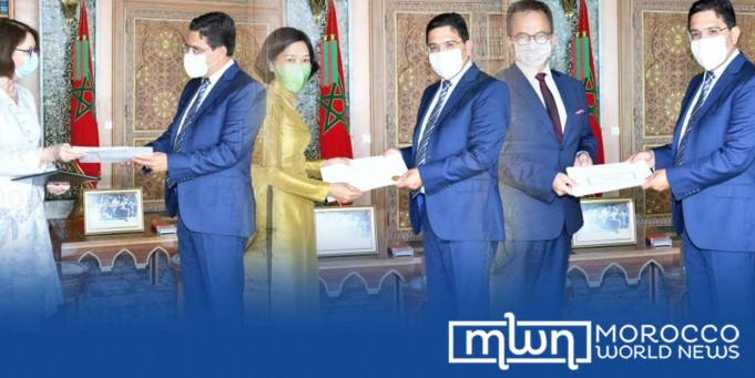 Morocco Receives New Ambassadors of Ukraine, Vietnam, Poland