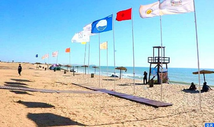Morocco's Dakhla Celebrates 9th Blue Flag for Oum Labouir Beach
