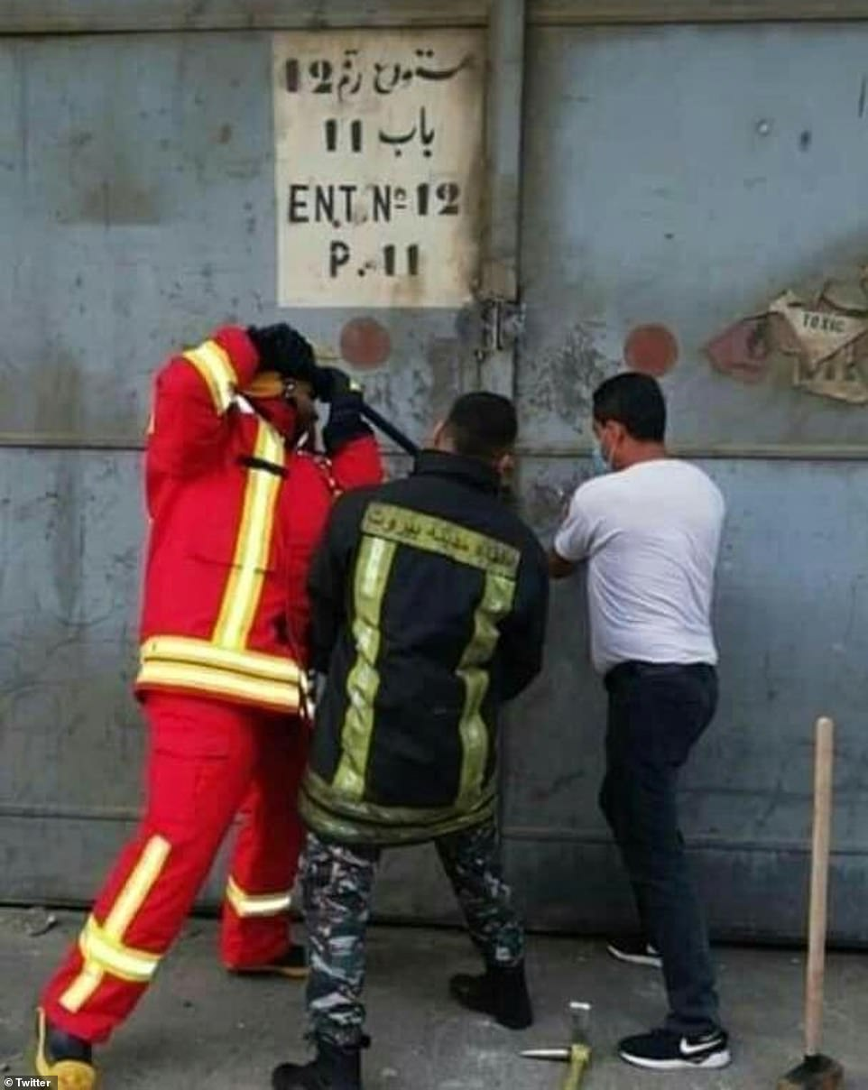 Beirut First Responders Captured in Photo Moments Before Explosion