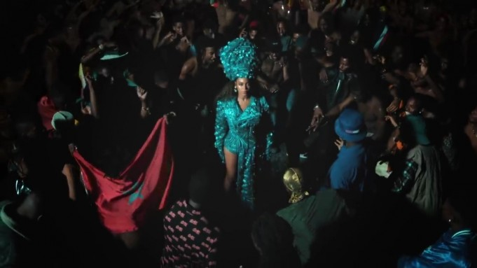 The Moroccan Flag Featured in Beyonce's New Video Clip
