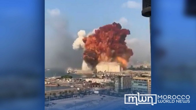 Video Massive Explosion Strikes Lebanon's Capital Beirut