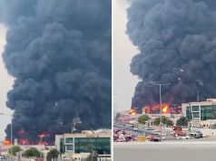 Fire Ravages UAE's Ajman Market