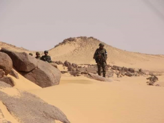 Western Sahara - Moroccan Soldiers Endure Scorching Heat to Defend Berm
