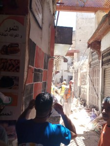 Building collapses in Fez medina