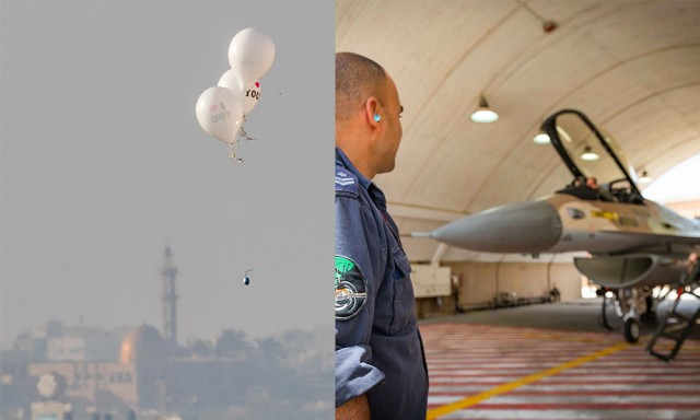 Israel Deprives Gaza of Essential Fuel Over 'Terrorist Balloons'