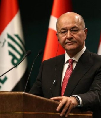 Iraq's President Announces Support For Early Elections