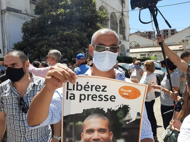 Algeria: Protests Call For Press Freedom and Veterans' Pensions