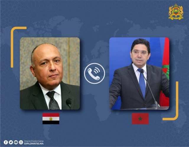 Egypt, Jordan Endorse Libya Talks Held in Morocco's Bouznika