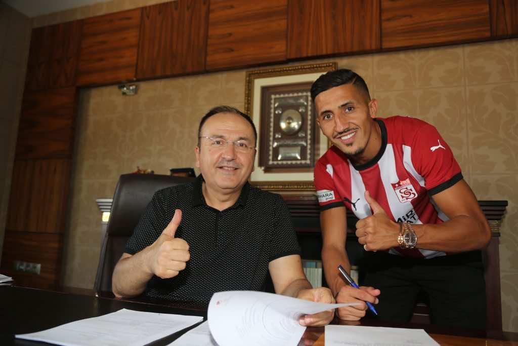 Morocco's Faycal Fajr Signs With Turkish Football Club Sivasspor