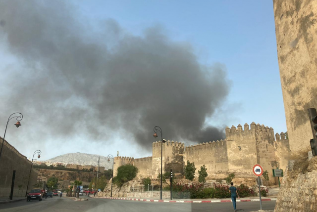 Fire Ravages Old Medina of Fez, Destroys Over 80 Businesses.