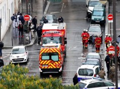 France Arrests Suspect After Knife Attacks Near Charlie Hebdo's Old Office