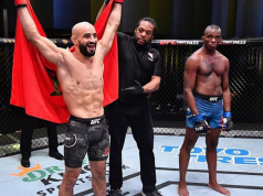 Moroccan MMA Champion Ottman Azaitar Wins UFC Vegas Fight