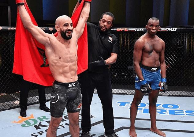 Moroccan MMA Champion Ottman Azaitar Wins UFC Vegas Fight