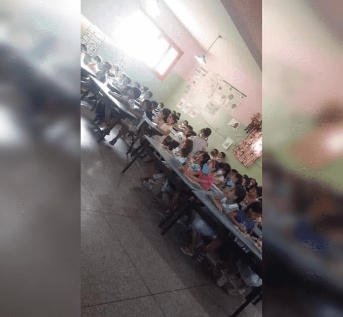 Morocco Investigates Classroom Health Protocol Violation Photo
