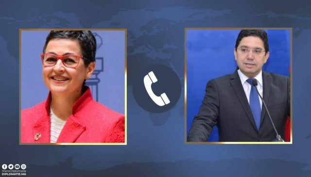 Morocco, Spain Discuss Regional Issues Over Phone Call