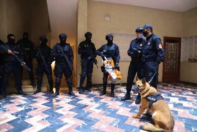 Morocco's BCIJ Seized Explosive Materials in Anti-Terror Raid