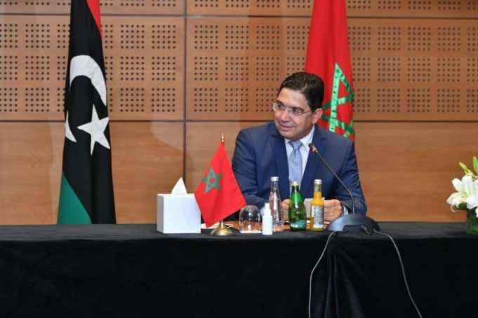 Nasser Bourita Libyan peace talks Bouznika Morocco