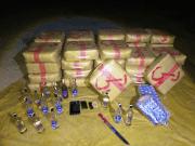 Police Seize 1 Ton of Cannabis Resin Near Errachidia, Southeastern Morocco