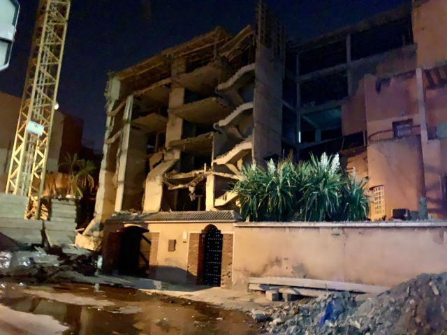 Private Clinic Building Collapse in Marrakech Kills a Man