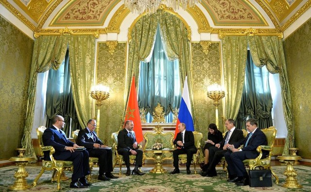 Russia's FM Calls For Intensified Political Dialogue With Morocco