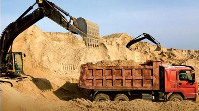 Sand Quarries in Morocco