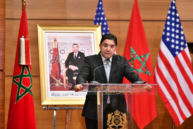 FM Bourita Introduces 10-Year Morocco-US Defense Cooperation Roadmap