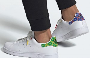 Adidas Adds Moroccan Tile Pattern to Iconic 'Stan Smith' Shoe