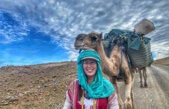 Adventurer Alice Morrison Finds Dinosaur Tracks in Moroccan Expedition