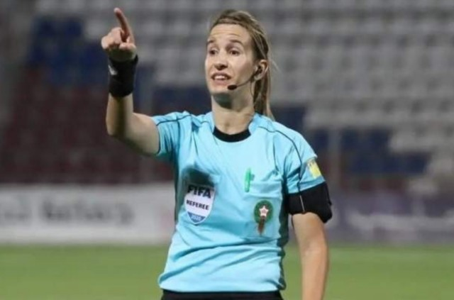 Bouchra Karboubi: Female Referee Makes Waves in Morocco's Botola
