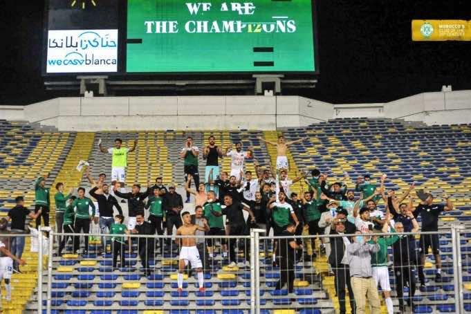 Casablanca Turns Green as Raja Fans Celebrate 12th League Title