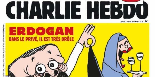 Turkey to Take Legal Action Against Charlie Hebdo for Erdogan Cartoon