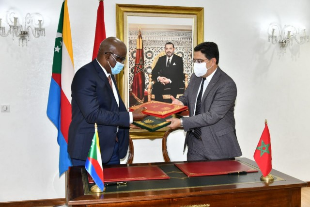 Comoros Opens Embassy in Morocco's Capital Rabat