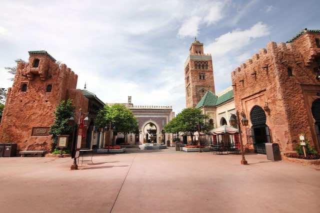 Disney Takes Ownership of Moroccan Pavilion in EPCOT Theme Park, Florida