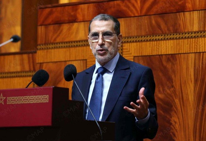 El Othmani Morocco's Low ICU Occupancy Rate Signals COVID-19 Stability
