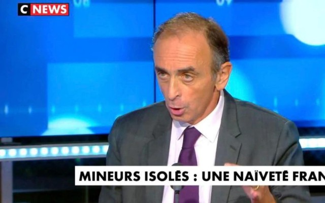 Eric Zemmour: Unaccompanied Minors in France Are 'Rapists, Murderers'