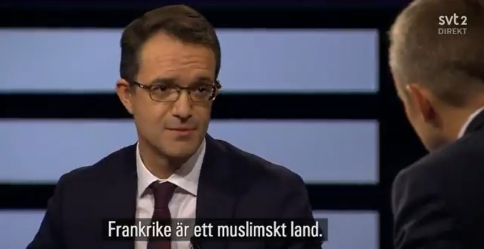 French Ambassador to Sweden Says France is Muslim Country